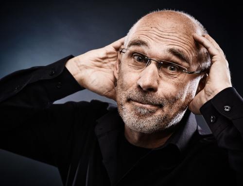 Kabarettist Werner Weber bei uns im Fotostudio