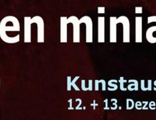 Art en Miniature – Einladung zur weihnachtlichen Ausstellung am 12. + 13. Dezember 2015