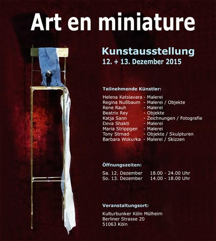 Art-en-Miniature-Tony-Strnad-Ausstellung