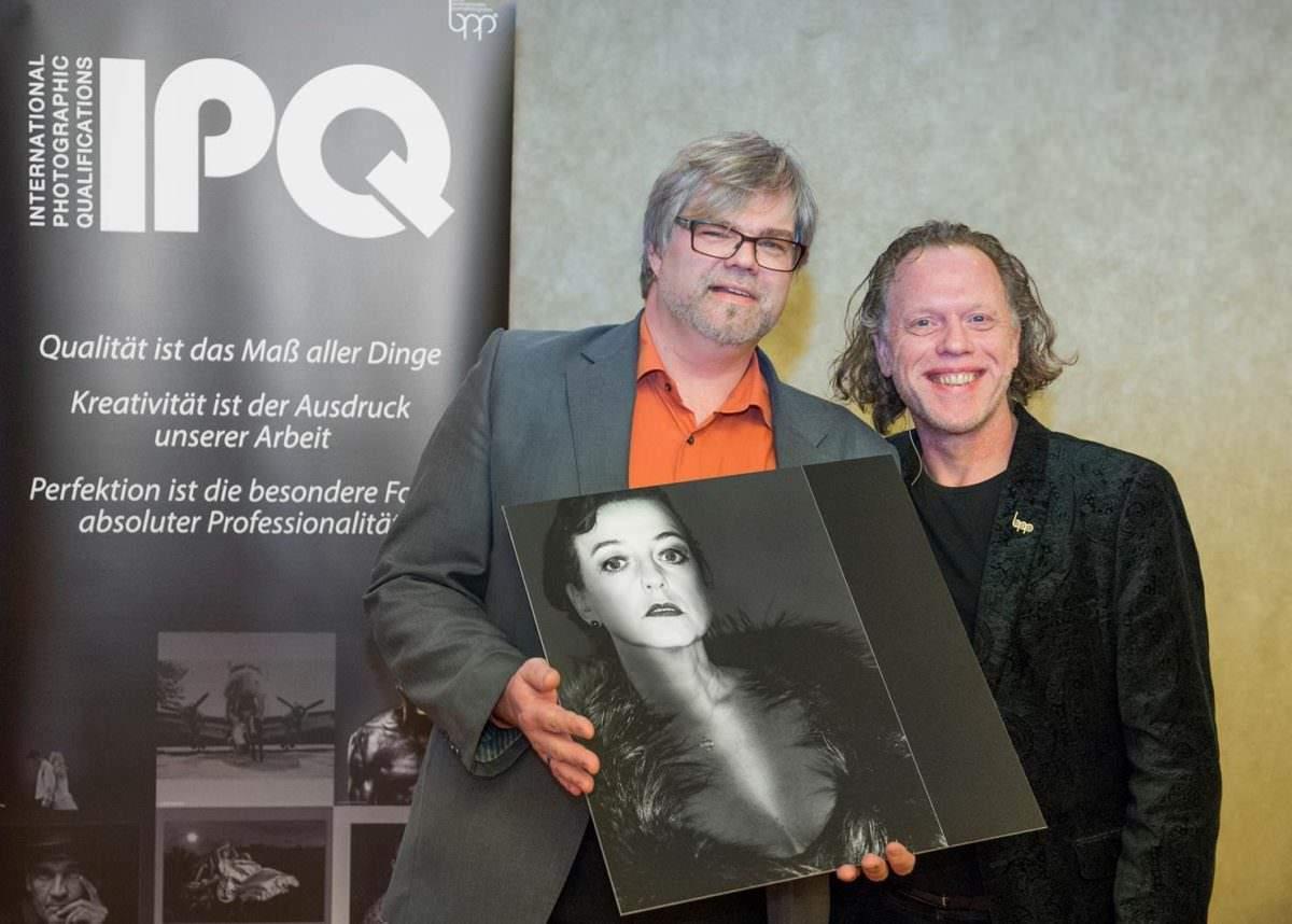 Enric Mammen ausgezeichnet mit IPQ HPbpp mit Henk van Kooten