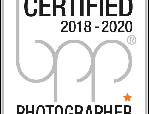 Kontinuierliche Qualität – bpp certified photographer mit einem Stern zum dritten Mal in Folge